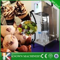 China exclusive producer chocolate soft nut ice cream fruit blender mixer making machine free shipping