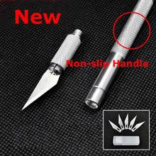 Металлопродукции скальпеля нескользящая печатной гравировка ножи платы ремесло лезвия резак инструментов
