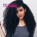 Grade 8a Unprocessed Virgin Hair 4 Bundles Peruvian Curly Hair Extensions Peruvian Jerry Curl Virgin Hair Ula Hair