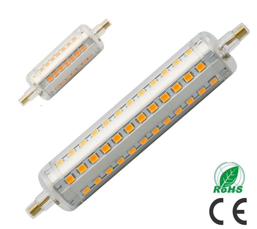 2015 newest led r7s light 78mm 5w 10w dimmable 118mm r7s for Led r7s 78mm osram