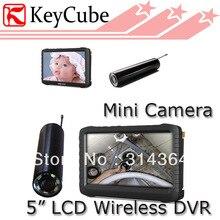 2.4 G 8 canales Monitor inalámbrico cámara de inspección de tuberías con pulgadas LCD HD Mini DVR Receiver–TE810H Loop envío grabación gratuito