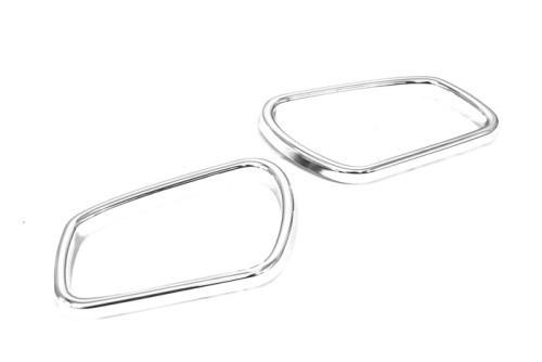 car styling chrome side mirror frame for ford focus mk2