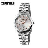 Watches Women Luxury Brand Watch SKMEI Quartz Wristwatches Fashion Sport Full Steel Dive 50m Casual Watch