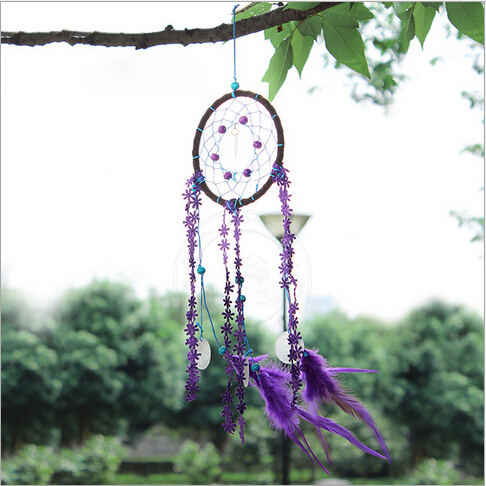 New Arrival Same Style With Korean Drama The Heirs Purple Dream Magnificent Dream Catcher To Hang In Car