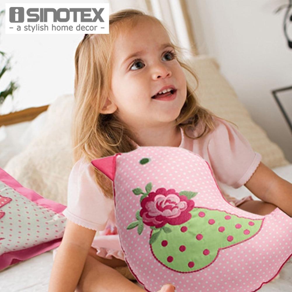 1pcs/lot Cushion Coxim Children Embroidered Cartoon Shape Soft Filler Pillow Home Decorative Sofa Bed Car Kids Toy Play Kawaii