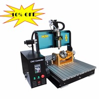 10% off JFT Mini Cnc 6040 Cutter 5 Axis Router Milling Metal Engraving Machine