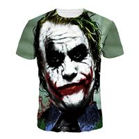 American Apparel Harajuku Joker Casual Short Sleeve Top Summer Punk Print Women T Shirts One Direction