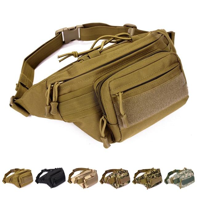 unisex waist bags MOLLE Belt Waist Hip Pack Bag Range Soldier Stealth Heavy Duty Carrier waist packs