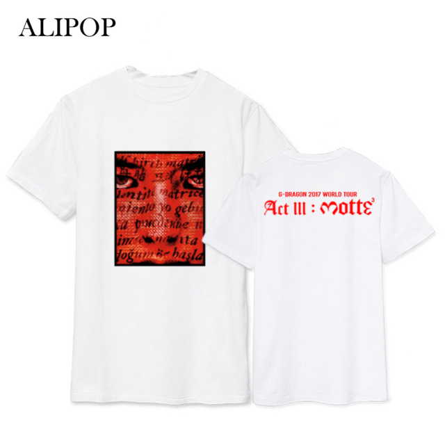 Bigbang G Dragon World Tour T-Shirt