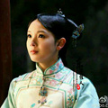 Республиканский период TV игра монстр убийца ву синь Fa ши актриса же конструкция синий вышивка Qifu династии цин костюм