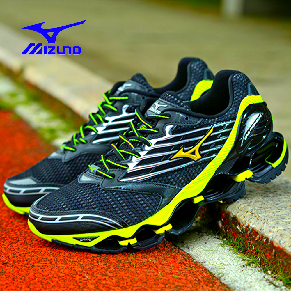 New Mizuno Wave Prophecy 5 Professional sports Men shoes running shoes outdoor basketball shoes Weightlifting Shoes Size 40-45 new help in basketball shoes hip hop sports running shoes