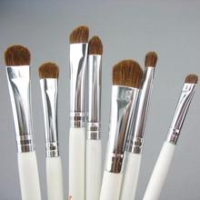Retail JAF Classic 7pcs Brushes for Makeup 100% Natural Animal Horse Pony Hair Eye Makeup Brush Set JE07PY