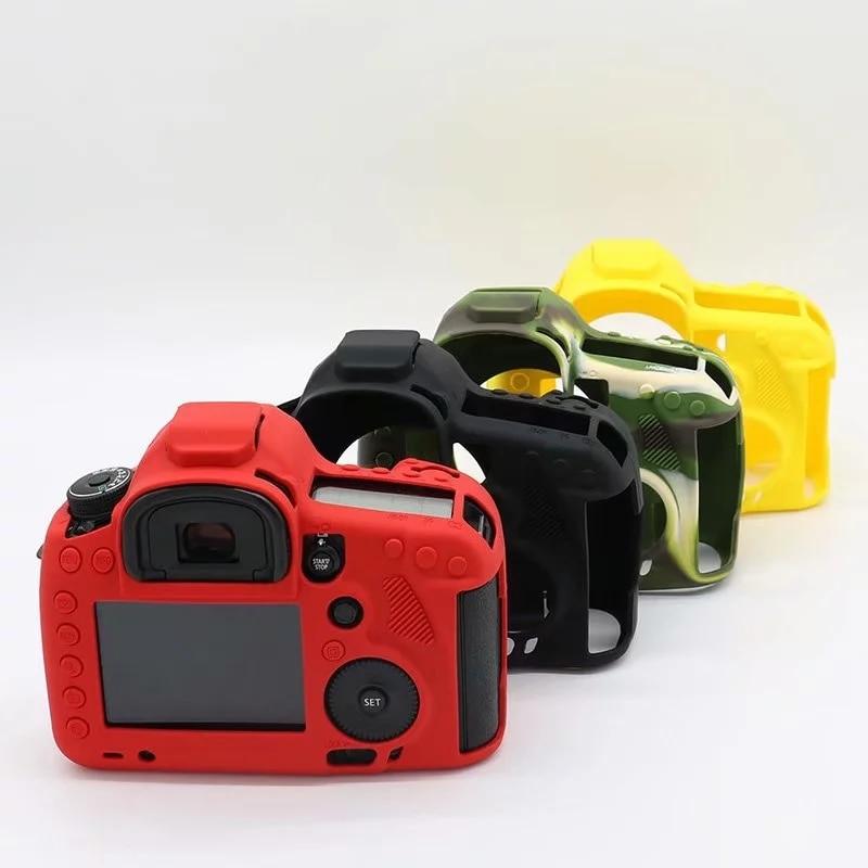 Sac de protection de caméra pour canon eos 5d3 5d Mark III 5DSR/5DS, housse en caoutchouc souple à ouverture de batterie