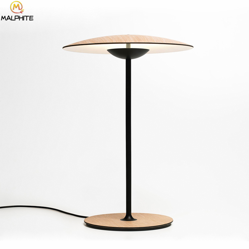 Modern LED Table Lamp For Bedroom Bedside Lamps Table Hats ...