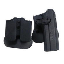 Military Army IMI 1911  Gun Holster For Beretta 92 Polymer Roto Magazine Airsoft Tactical