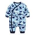 Infantil ropa de recién nacido del mameluco de algodón ropa para vestir ropa de bebé de algodón