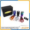 RASTP-Universal Manual Gear Shift Knob 5 Velocidad Del Coche Auto CNC Tocho De Aluminio Shifter LS-SFN037