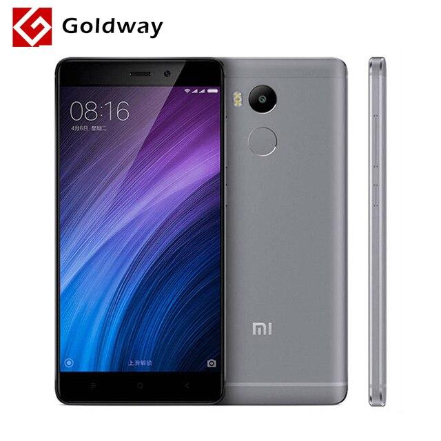 """Оригинальный Xiaomi Redmi 4 Pro Prime 3 ГБ Оперативная память 32 ГБ Встроенная память мобильного телефона Snapdragon 625 Octa core Процессор 5.0 """"FHD 13MP Камера 4100 мАч"""