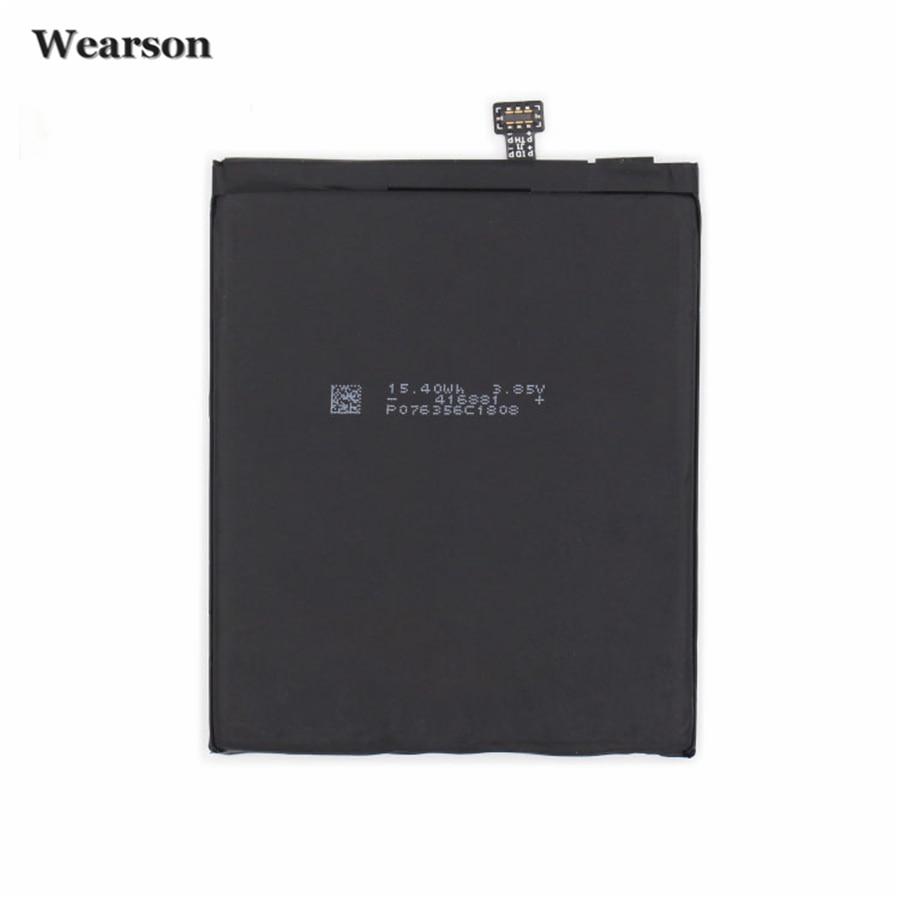 Wearson cpld-180 Батарея для Samsung/LeEco Прохладный смены S1 Батарея 4070 мАч Бесплатная доставка по России