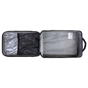 Сумка для путешествий, портативная водонепроницаемая сумка для обуви, карманная упаковка, нейлоновая сумка на молнии с ручкой