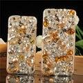 Diamantes de luxo 3d bling cristal rhinestone tampa hard case voltar para samsung galaxy nota 7 5 4 3 S3 S4 S5 S6 S7 S7Edge S6Edge A7