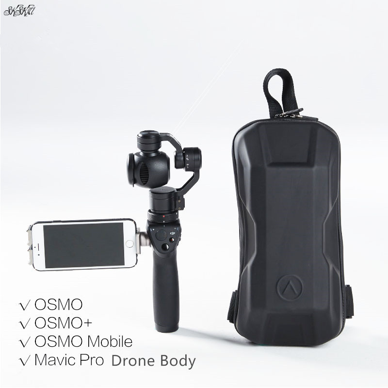 все цены на Camera gimbal HardShell bag case Shoulder Single package accessories EVA Storage Bag for DJI OSMO Mobile OSMO+ /Mavic Pro Drone