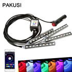 PAKUSI Car LED RGB S...