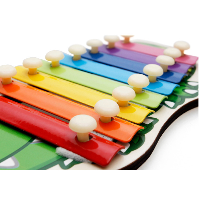Montessori Toys Educational Wooden Toys for Children Early Learning Kids Intelligence Xylophone Musical Wisdom 8 Tone Toy
