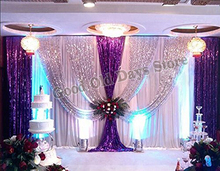 Buy purple stage curtain and get free shipping on AliExpress.com
