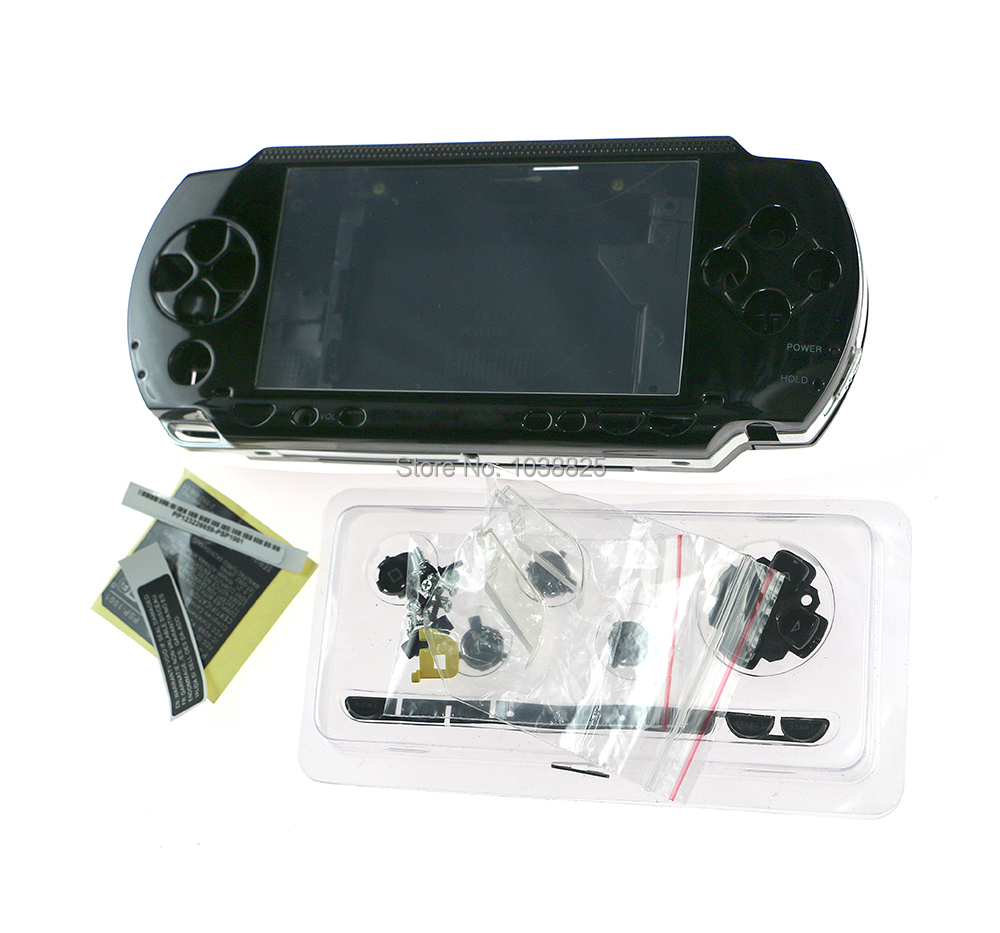 High Quality Shell Case For PSP 1000 PSP1000 Full Housing Shell Cover Case Replacement Buttons Kit