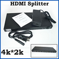 4K*2K 8 Port HDMI Splitter 1.4V 1080P 3D 1x8 HDMI switc Splitter  Adapter Converter For HDTV Blu-Ray Video