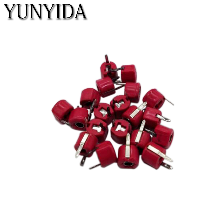 20pcs,JML06-1-20P 20pf 6mm JML06-1 DIP Trimmer Adjustable Capacitor Free Shipping 5P 10P 20P 30P 40P 50P 60P 70P 120P