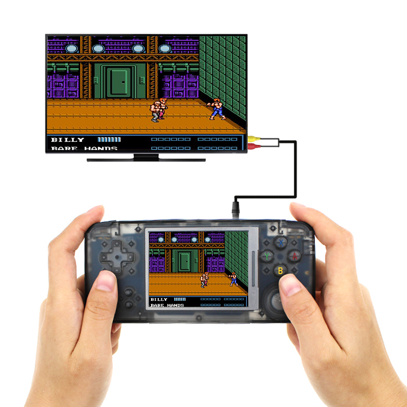 RS-97 Classic Retro Handheld Game Player Mini Video Game Console 3.0 inch Screen 16GB Portable Built-in 3000 Games цена