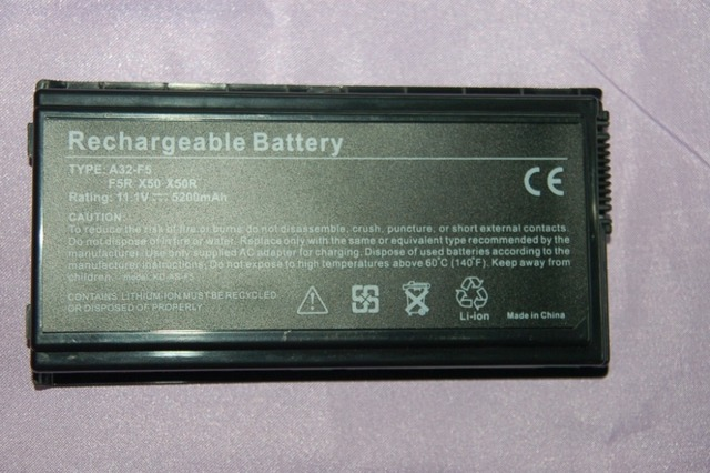 JIGU Laptop Battery For Asus F5 X50SL X50VL X50RL F5VL A32-F5  f5rl