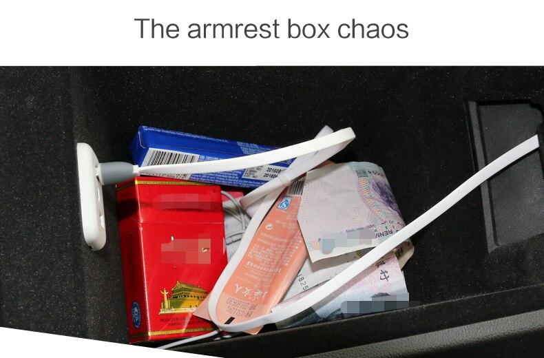 Zunduo caixa de braço central do carro