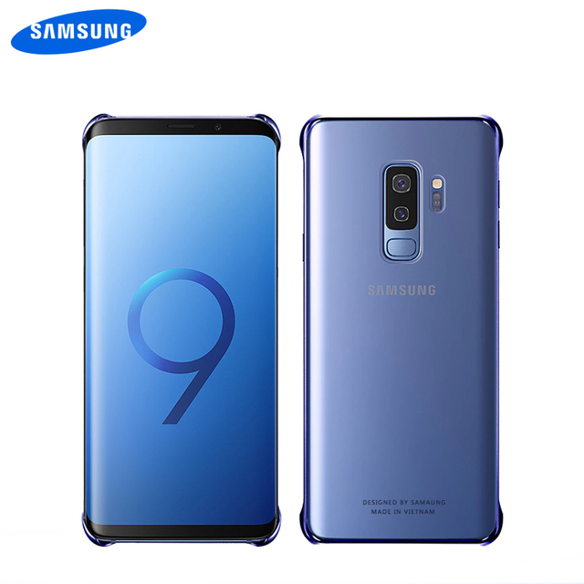 SAMSUNG Galaxy S8 S9 S10 Plus S10e Clear Transparent Shockproof PC Hard Back Cover Protection