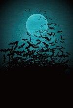 HUAYI Tecido Gota de Morcegos Halloween Fundos Foto Cenário XT-5908 Newborn Fotografia Backdrops Para Estúdio de Fotografia
