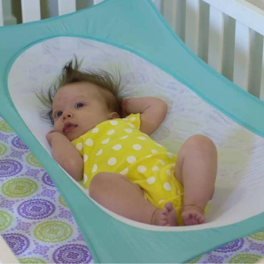 Baby Schaukeln Infant Hängematte Baby Abnehmbare Protable Klapp Krippe Baumwolle Schlafen Bett Outdoor Garten Schaukel 5 farben