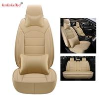 Kalaisike кожа универсальные чехлы сидений автомобиля для DS все модели DS DS3 DS4 DS6 DS5 DS4S Авто стиль автомобильные аксессуары авто подушка
