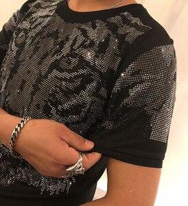 Image 5 - % 2019 pamuk t gömlek spor vücut geliştirme erkek tee kısa kollu en kaliteli