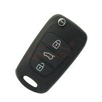 Flip schlüssel 434 Mhz 3 taste für Hyundai i20 i30 autoschlüssel Ersatz remote key