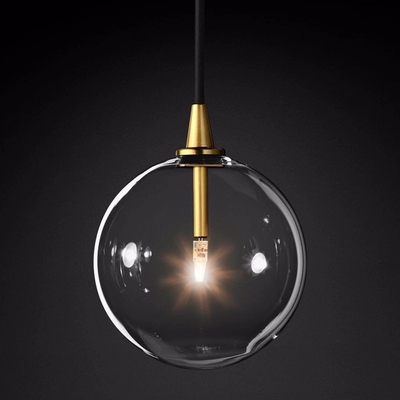 1 Light Clear Glass Globe Led G4 Lustre Luminaires Pendant Lights Simple Nordic Gold Metal Hanging Lamp Dining Room Droplight1 Light Clear Glass Globe Led G4 Lustre Luminaires Pendant Lights Simple Nordic Gold Metal Hanging Lamp Dining Room Droplight