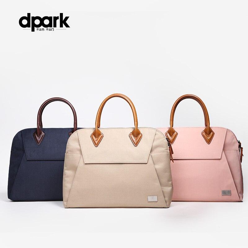 D-park 13 pouces Portable sac à main pour ordinateur Portable étui à bandoulière Messenger ordinateur Portable sacs pour MacBook Air cas