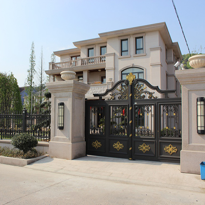 Aluminium Garden Yard Gates Fences Gate Designs Hc-a2