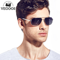VEGOOS Luxury Brand Designer Pilot polarized sunglasses Sun glasses Free shipping men polarized anti uvb Pilots sunglasses #1320