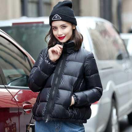 Winter Jacket Women Classic Lady Jackets Stand Collar Slim Zipper Short Outwear Scasacos De Inverno Feminino A3922