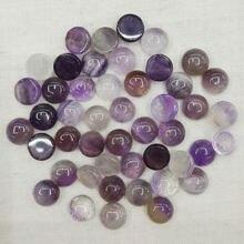 Модные круглые бусины 8 мм из фиолетового кристалла с натуральным