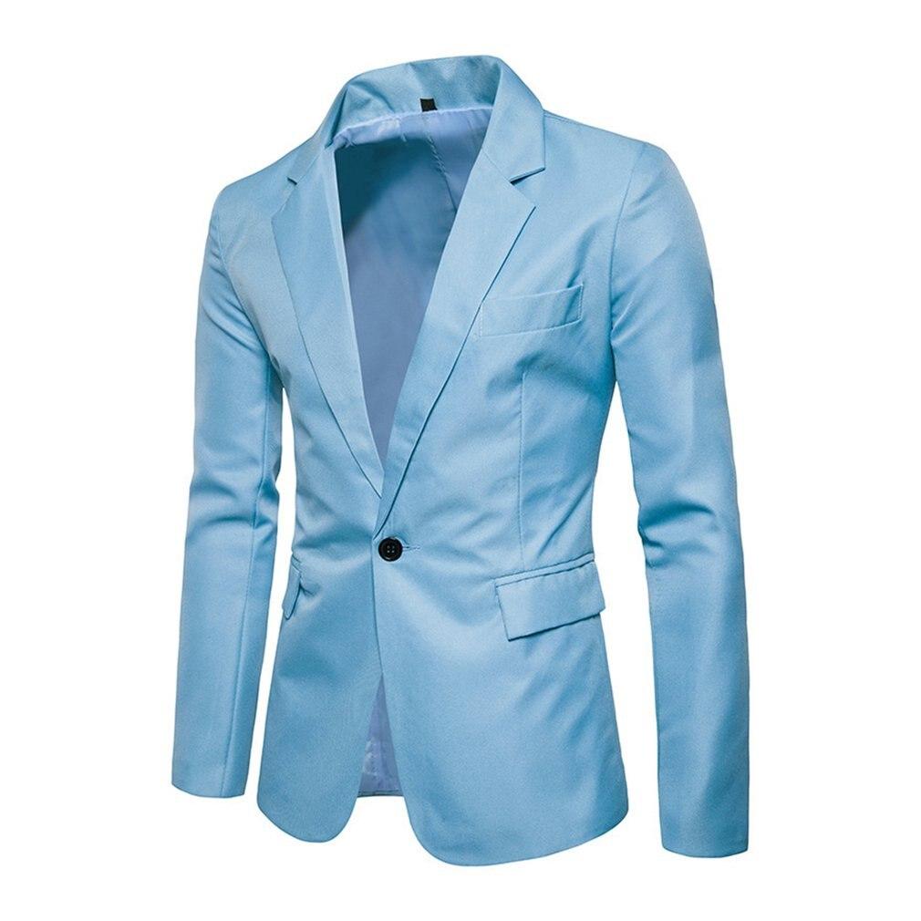 2018 Herbst Männer Anzug Jacken Schlank Tops Hochzeit Blazer Mäntel Plaid Elegante Amerikanischen Royal Blau Weste Beiläufige Männliche Anzüge Masculino Ruf Zuerst