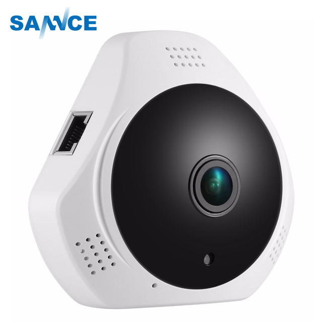 360 Degree Fish eye 960P HD Panoramic IP Camera 1.3MP Wireless Security Camera & Two Way Audio, Night Vision , Motion Detection