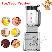 2L Ice Crusher Commercial Multifunction High Speed Blender Icemaker 2000W Juice Machine Food Processor Ice Slushy Maker RBM 765